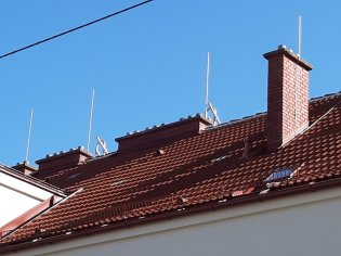 Paratonnerres, Vienne, Règlementation, Architecture