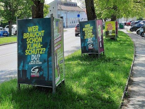 Européennes - Panneaux électoraux - Perchtoldsdorf 25.05.19 - Photo JYR