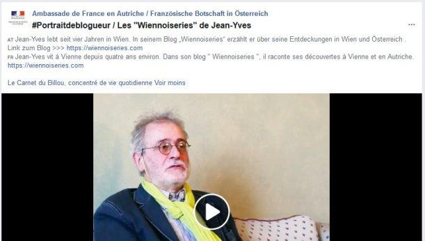 """Portrait de blogueur : Wiennoiseries""JYR"